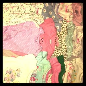 Other - Newborn and premie baby girl onesies